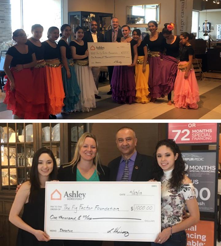 Ashley Homestore Donation