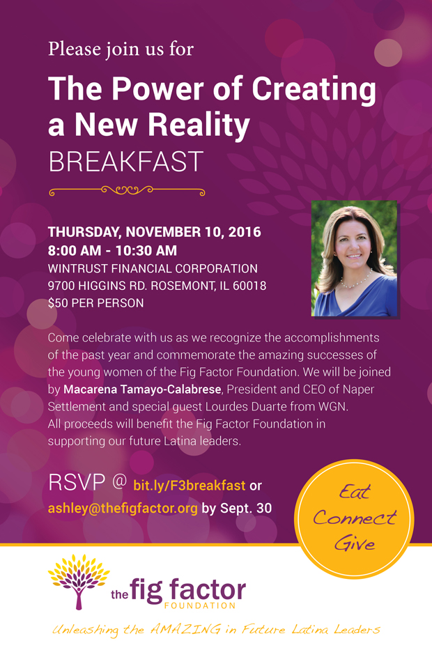 The Fig Factor Foundation Breakfast